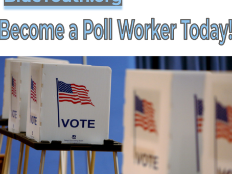 Sign Up To Be a Poll Worker Today!
