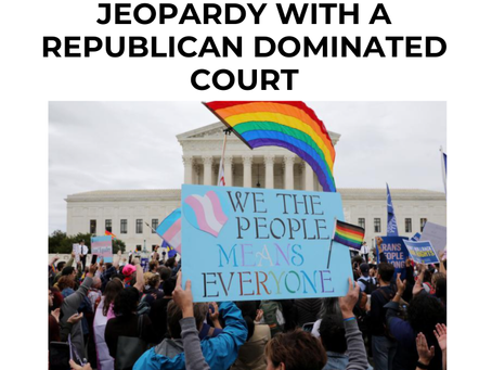 Same-Sex Marriage In Jeopardy With A Republican Controlled Court