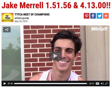 Jake Merrell 1.51.56 & 4.13.00