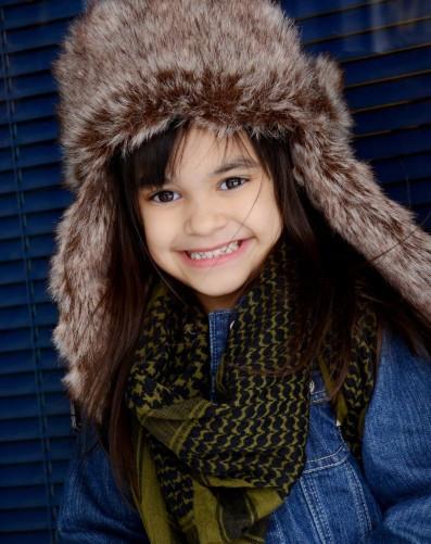 Emma Kay when she was little itty bitty