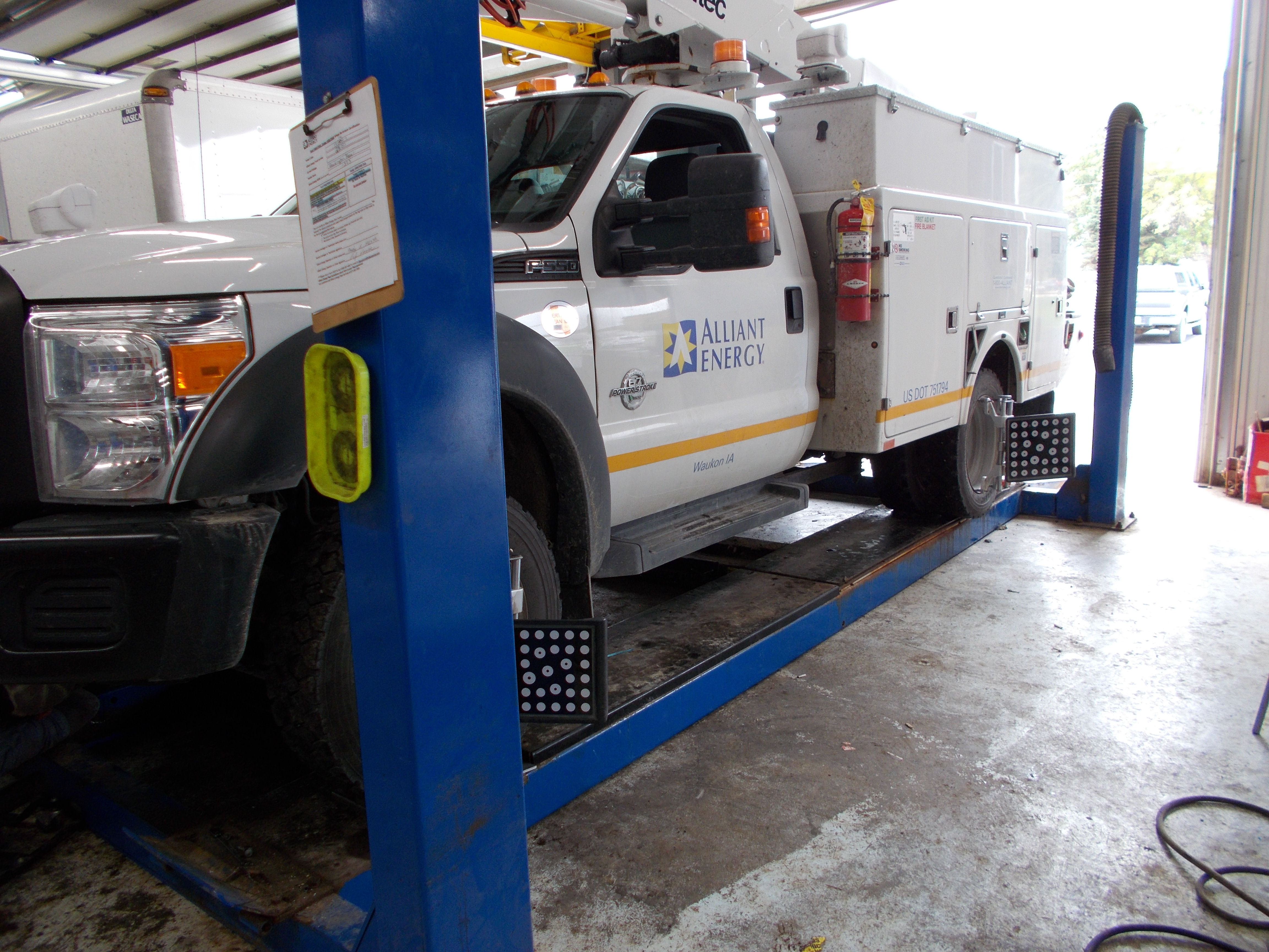 Large Vehicle Alignment