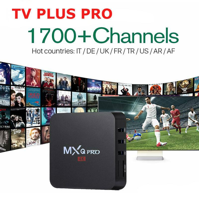 CHANNELS LIST | TV PLUS PRO