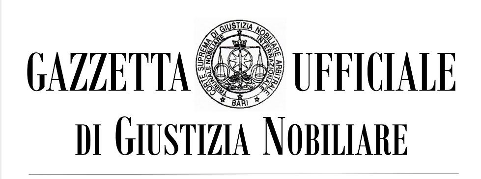 Top-GazzettaUfficiale-GiustiziaNobiliare