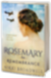 Book Cover Rosemary for Remembrance. WWII Historical Romance book cover.