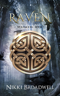 Raven by author Nikki Broadell, Book Cover