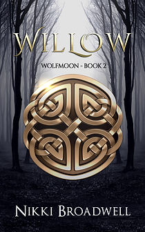 Willow by author Nikki Broadwell, Book Cover