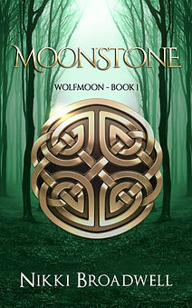 Moonstone Book Cover. Wolfmoon Series