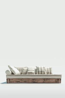 Timber and mattress