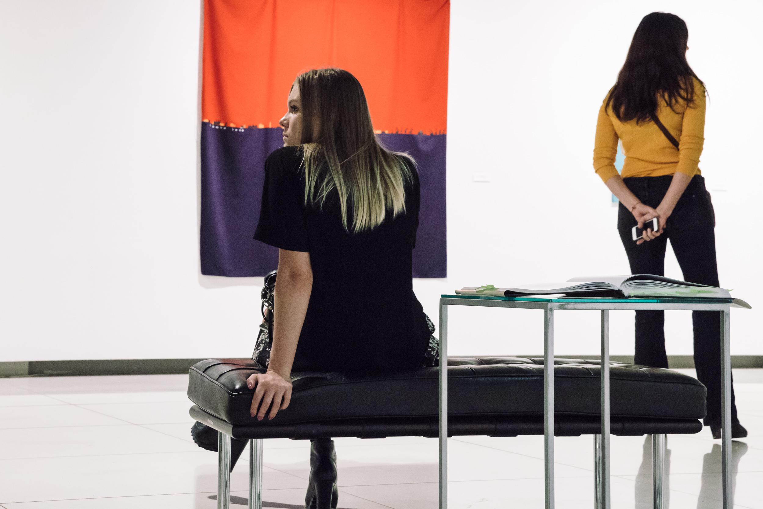 Выставка в галерее Виктория