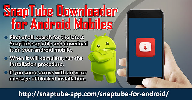 SnapTube Downloader For Android Mobiles