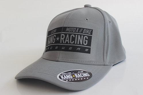KR FLEX RACE GREY/BK HAT