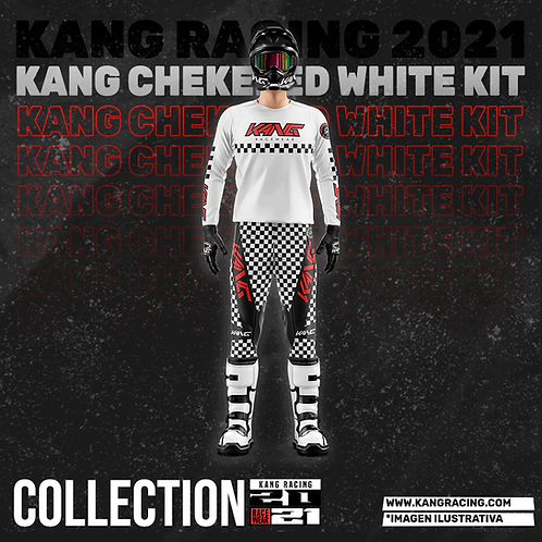 KANG CHECKERED WHITE KIT