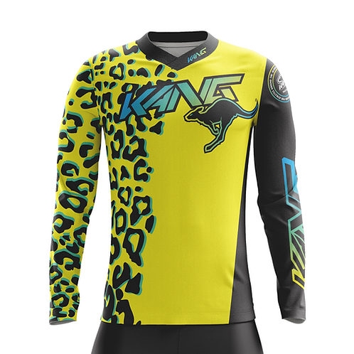 YOUTH JERSEY KANG LEOPARD YELLOW