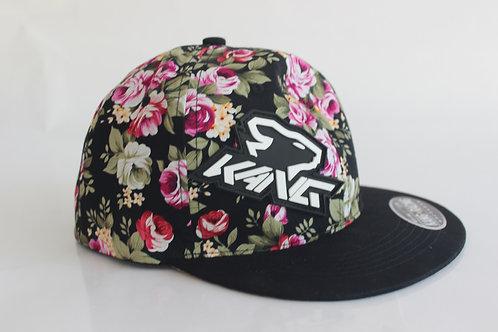 KR KANG HEAD FLOWERS/BK HAT