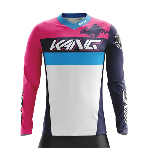 JERSEY KANG TEAM PINK/BLUE