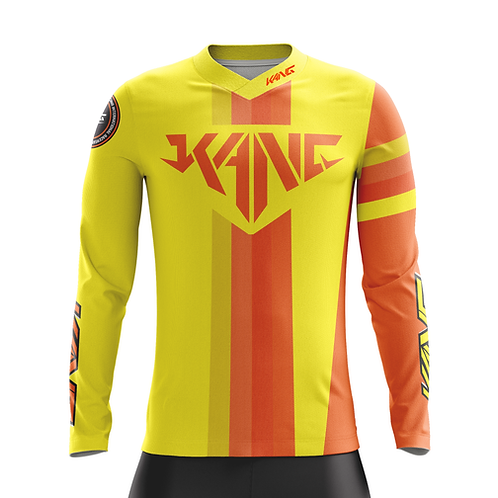 JERSEY KANG COLORMETRIK YELLOW/ORANGE