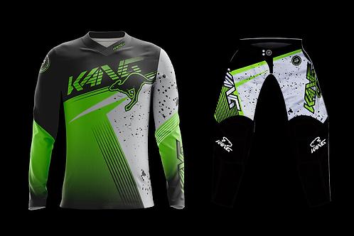 KANG SPOTTED GREY/GREEN KIT