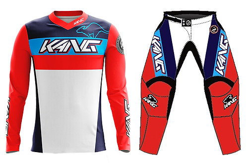 KANG TEAM RED/BLUE KIT