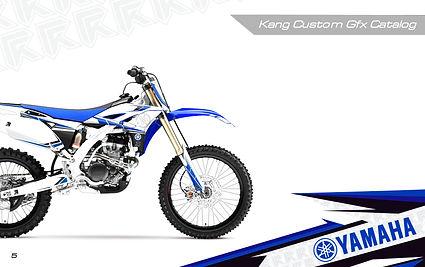 Kang Racing Graphics KR GFX Yamaha
