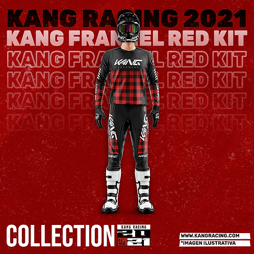 KANG FLANNEL RED KIT