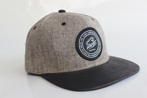 KR RACEWEAR LIGHT GREY/BK HAT
