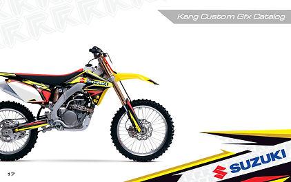 Kang Racing Graphics KR GFX Suzuki