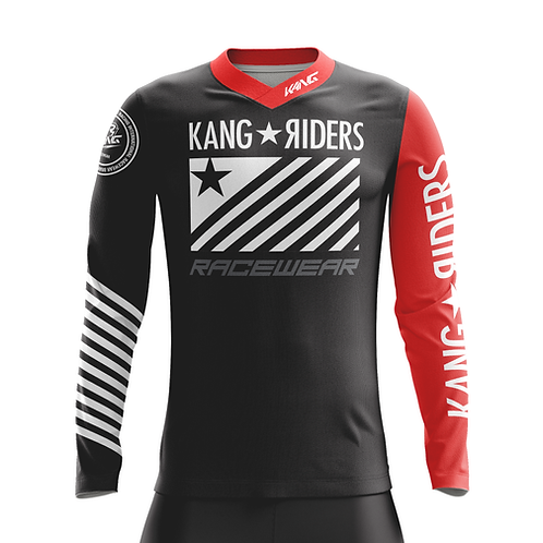 JERSEY KANG RIDERS FLAG RED SLEEVE