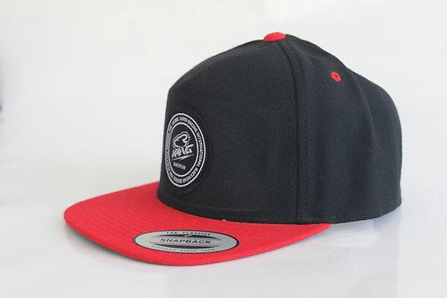 KR RACEWEAR RED/BK HAT