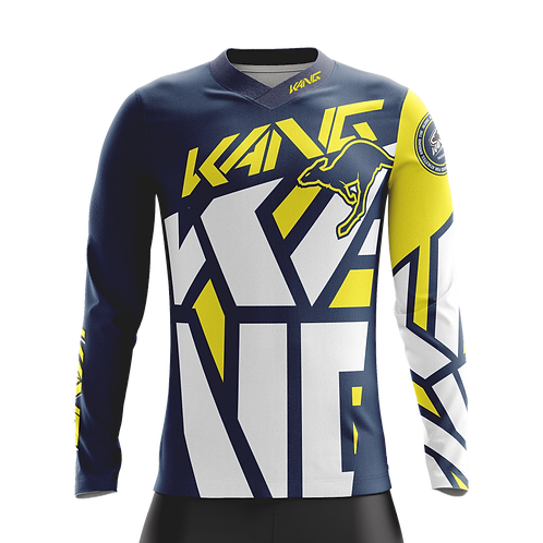 JERSEY KANG B.I.G YELLOW/BLUE