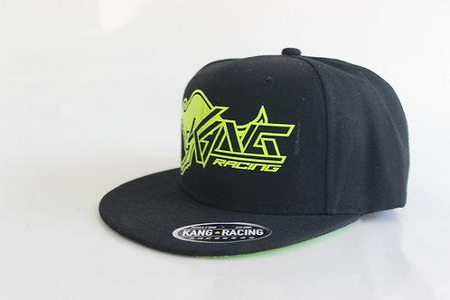 KR KANG BLACK/FLO YELLOW HAT