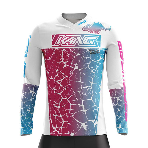 YOUTH JERSEY KANG CRACKED WHITE