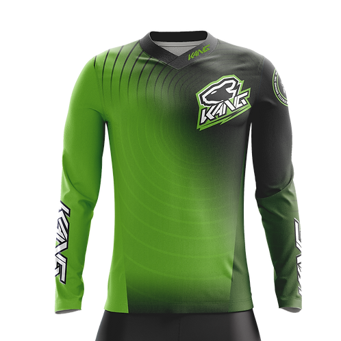 JERSEY KANG RADIAL GREEN/BLACK