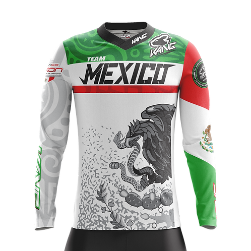KANG TEAM MEXICO WHITE KIT