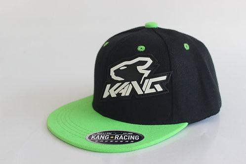 KR KANG HEAD BK/FLO GREEN HAT