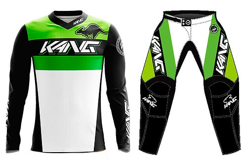 KANG TEAM GREEN/BLACK KIT