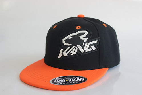KR KANG HEAD BK/FLO ORANGE HAT