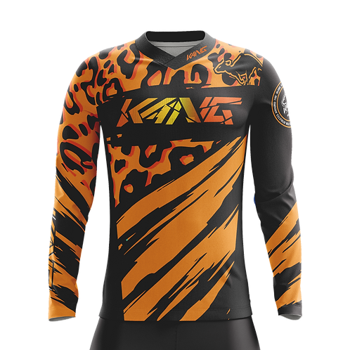 JERSEY KANG LIOPARD 2.0 ORANGE/BLACK
