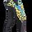 Thumbnail: KANG PANT LEOPARD BLACK/YELLOW