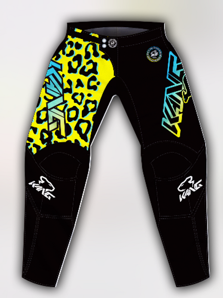 YOUTH KANG LEOPARD YELLOW PANT