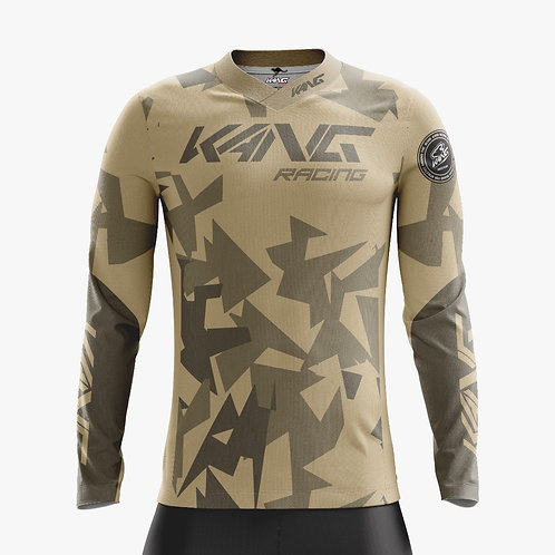 JERSEY KANG CAMO BROWN