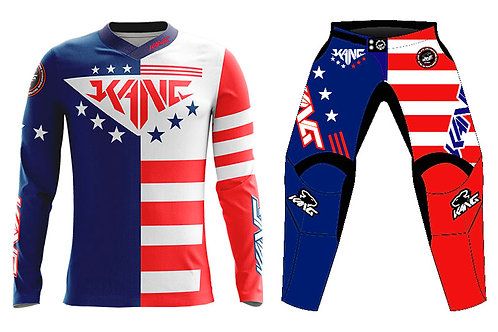 KANG PATRIOT BLUE/RED KIT