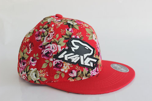 KR KANG HEAD FLOWERS/RED HAT