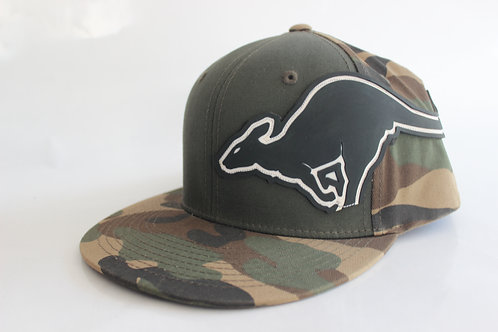 KR COMP GREEN/CAMO HAT
