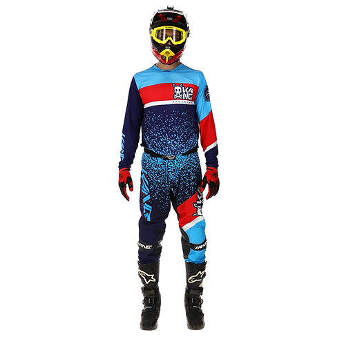 KANG SKULL BLUE/RED KIT