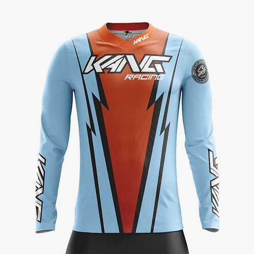 JERSEY KANG MIAMI BLUE-ORANGE