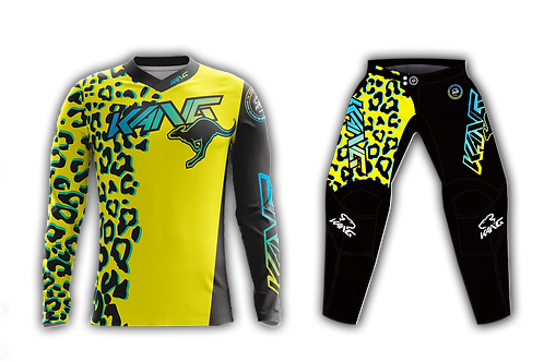 YOUTH KANG LEOPARD YELLOW KIT