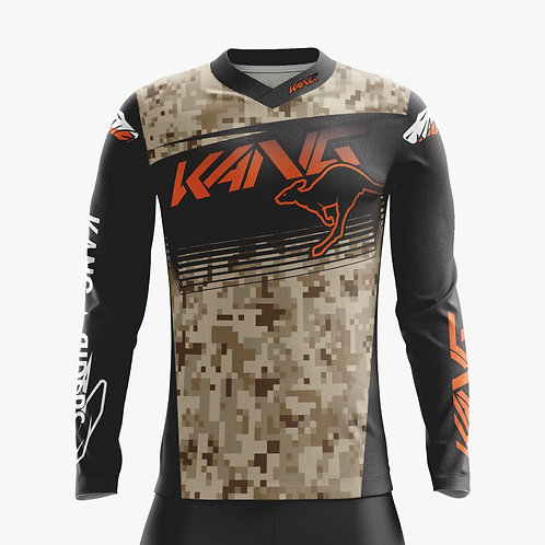 JERSEY KANGMO ORANGE/BLACK