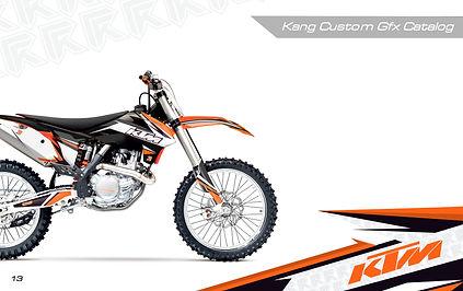 Kang Racing Graphics KR GFX KTM