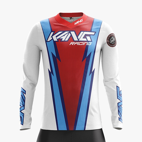 JERSEY KANG MIAMI WHITE -RED