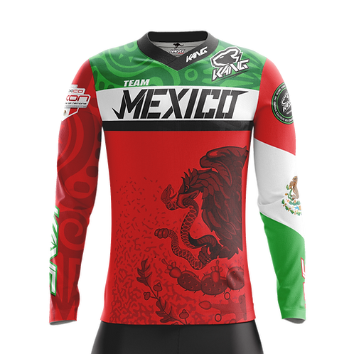 JERSEY KANG TEAM MEXICO RED